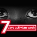 7 Days Activism Against Human Trafficking