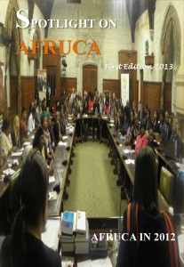 AFRUCA-First-Edition-2013-Newsletter 1