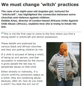 We must change 'witch' practices