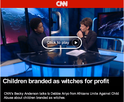 AFRUCA Speaks out on the Branding of Children as Witches (CNN)